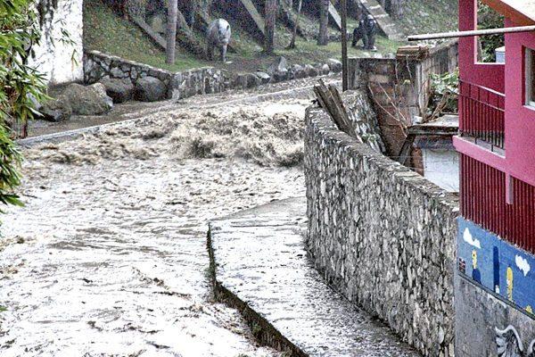 PC sigue en alerta por incremento en caudal de ríos y arroyos