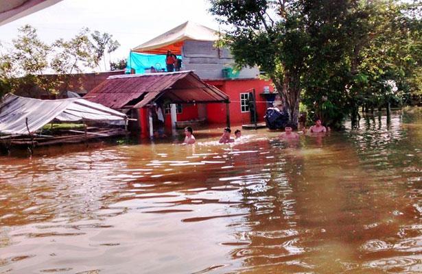 Población se prepara para desbordamientos de ríos