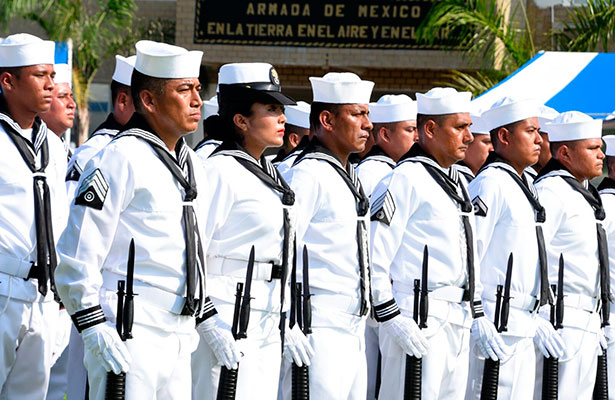 La Armada de México se fortalece; se gradúan 151 elementos