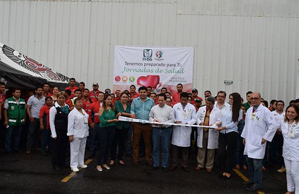 Realizó IMSS jornada de salud en Veracruz norte