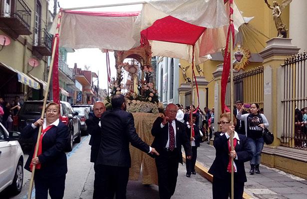 Fervor religioso en Corpus Christi