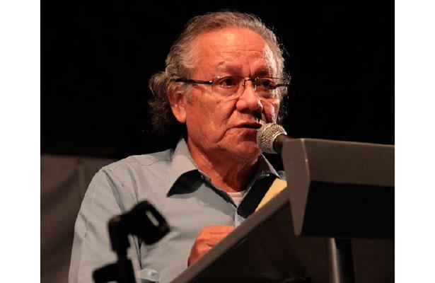 Escritor veracruzano Juan Hernández, presidente de la Asociación de Pueblos Originarios de México