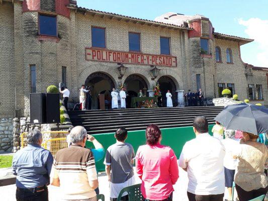 Inauguran Poliforum Cultural Mier y Pesado