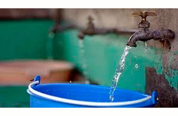 Cmas restringe suministro de agua potable