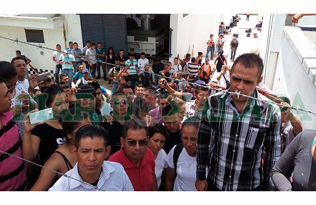 Vuelven a amotinarse cadetes de la academia de policía de El Lencero