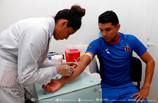El Tiburón se realizó exámenes médicos