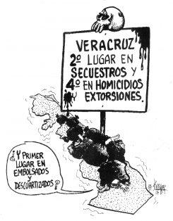Cimbrando a Veracruz…
