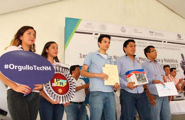 Concluye concurso de robótica en Poza Rica