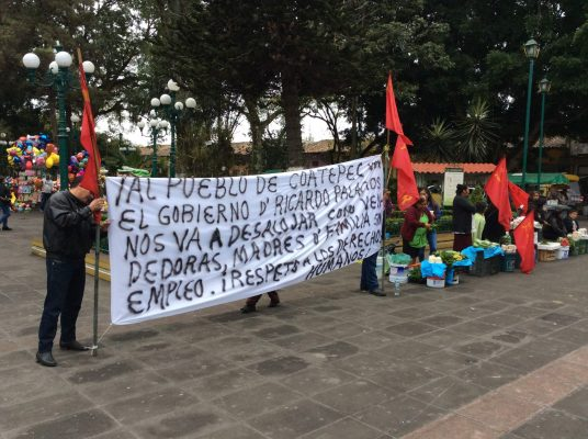 CEDH emite recomendaciones por violación de derechos humanos de comerciantes