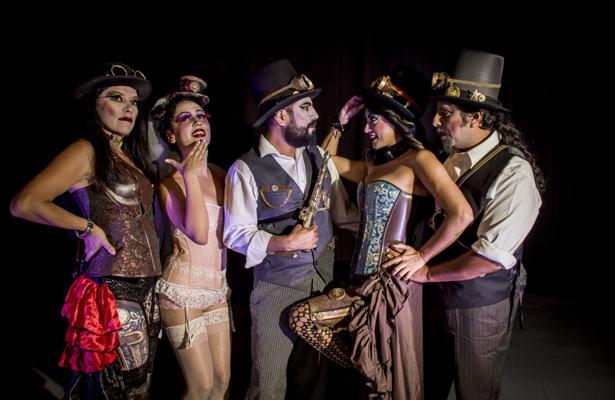 Estrenarán Bajo tierra cabaret steampunk