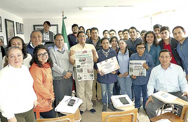 Destacan labor de Diario de Xalapa como promotor de la cultura