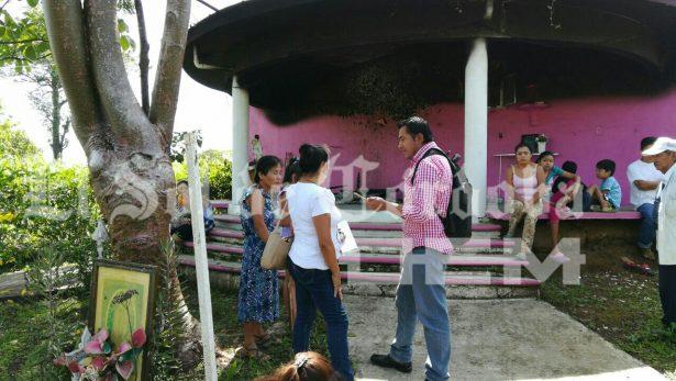 Incendiaron capilla de la Virgen de Guadalupe - Diario de Xalapa (Comunicado de prensa)