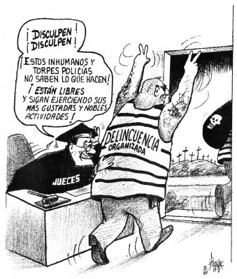 """Delincuencia """"apapachada""""…"""