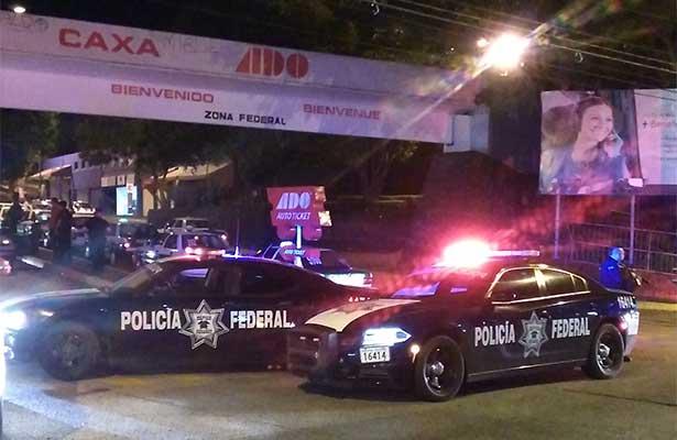 Esta madrugada, operativo de la Policía Federal en CAXA