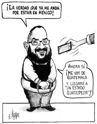 Acepta la extradición…