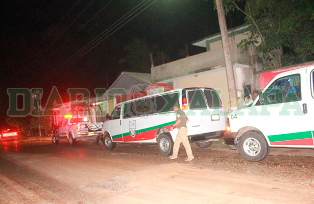 Policía y SNM realizaron operativo en Las Choapas; hubo disparos