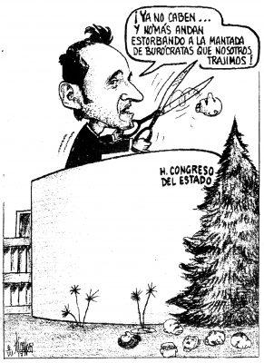 Recorte burocrático…