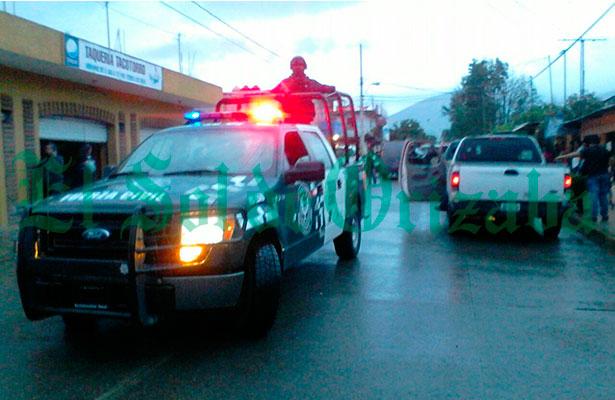 Sicarios rafaguean a hombre en Ciudad Mendoza