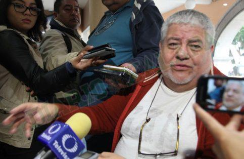 Manuel Huerta, dirigente estatal de Morena. Foto: Jaime Rivera
