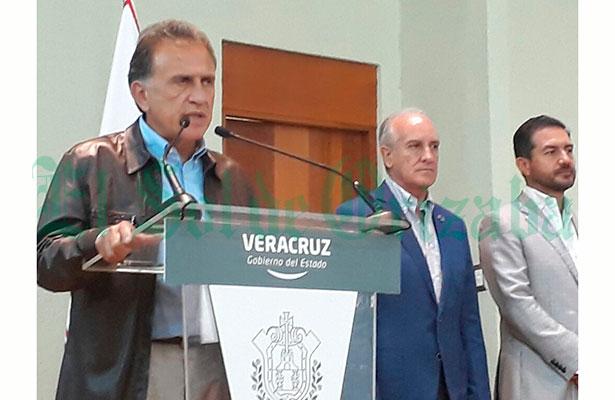 Exige gobernador de Veracruz revisión al Sistema de Justicia Penal
