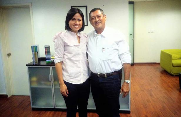 Se reúne Wilman Monje con secretaria de Desarrollo Social