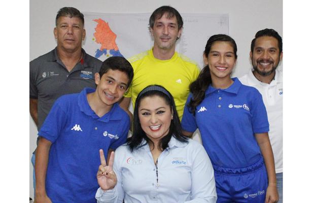 Los gimnastas Andrea Juárez y José Hugo Marín serán respaldado por el IVD