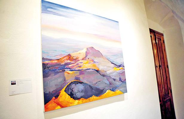 Jorge Salcedo expone la obra pictórica Apolíneo y Dionisiaco
