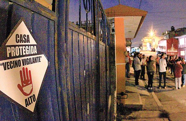 ¡Basta de inseguridad!, dicen vecinos de la Progreso; vamos sobre delincuentes, advierten
