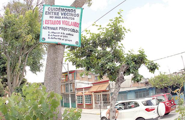 Crece autoprotección vecinal; colonos se organizan ante ola de robos a casas