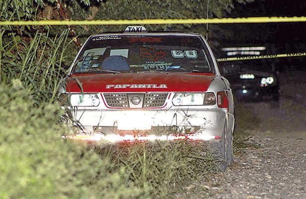 Fue asesinado y encajuelado otro taxista