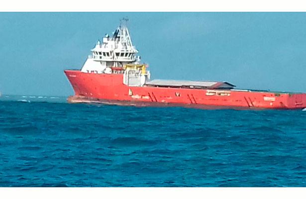 Daños en más de 4 mil metros cuadrados causa el buque Antares al sistema arrecifal Lobos-Tuxpan