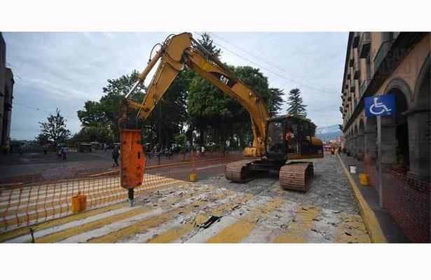 El 15 de septiembre concluyen trabajos de la calle Enríquez