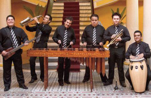 Marimba de los Hermanos Barranco.