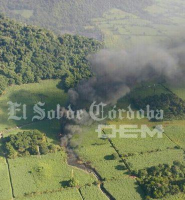Un muerto y cinco heridos por explosión en ducto de Pemex, en Veracruz