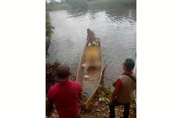 Encontró a su hermano muerto, flotando en el río