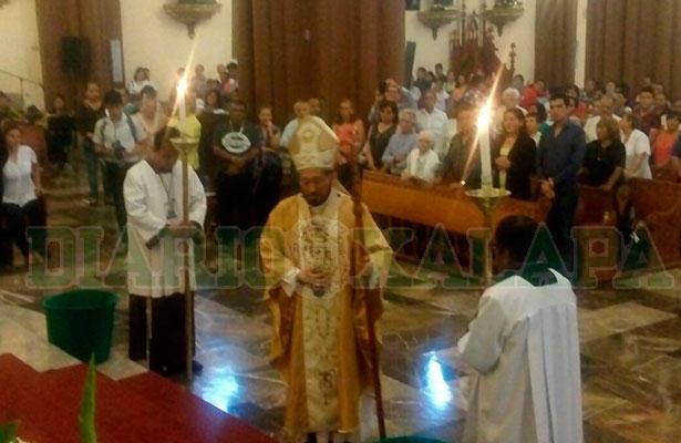 Lamenta arzobispo de Xalapa que la iglesia católica sea de las más atacadas