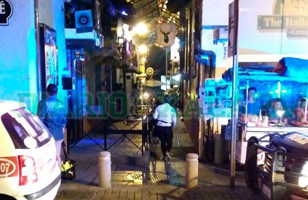 Hombres armados se habrían llevado a una persona en zona de antros del centro de Xalapa