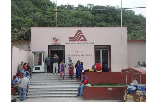 El Hospital Rural de Papantla labora normalmente, asegura el IMSS