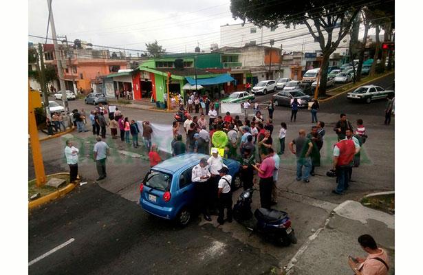 [Video] Por inseguridad, protestan vecinos de la Progreso Macuiltépetl