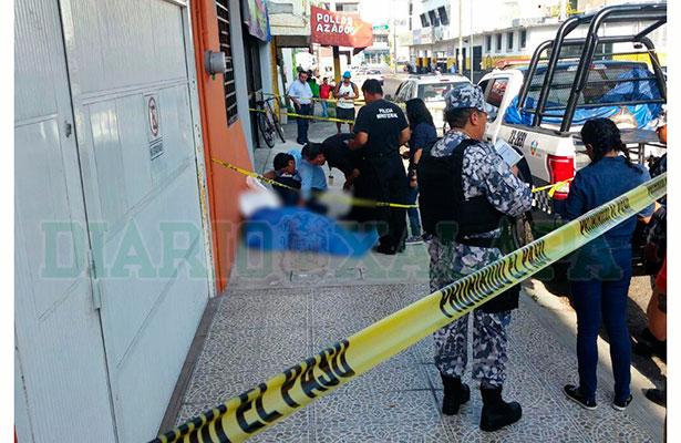 Murió en calles del puerto de Veracruz