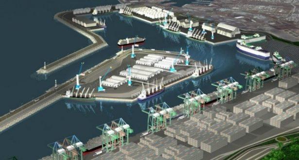 Registra 80% de avance construcción del Nuevo Puerto de Veracruz