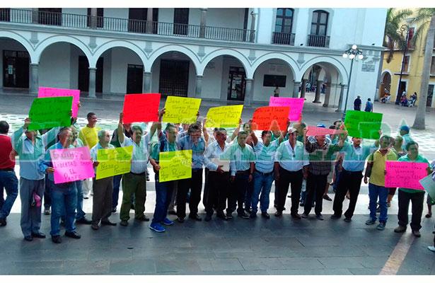 """Extrabajadores de Tamsa piden liberación  de """"El Profe"""""""
