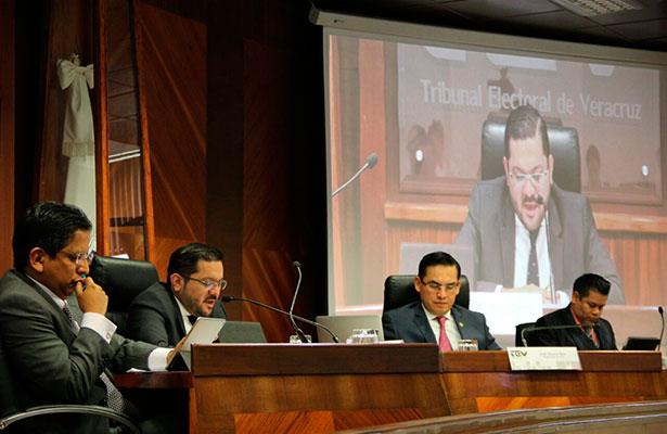 TEV sanciona a candidata de Movimiento Ciudadano por la pinta de una barda