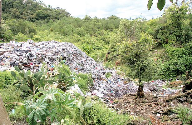 Contaminación por tiraderos, problemas sin solución