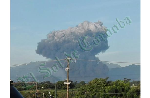 Fuerte explosión en ducto de Pemex, en Veracruz