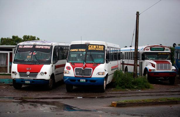 Delincuencia organizada participaba en la prestación del servicio público de transporte