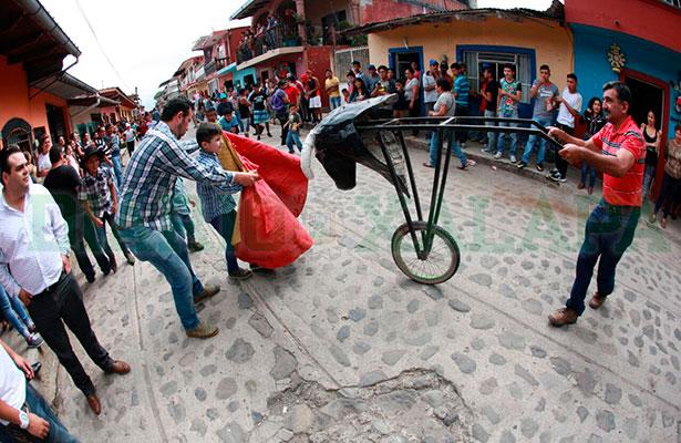 Después de 17 años de tradición, suspenden vaquillada en Xico