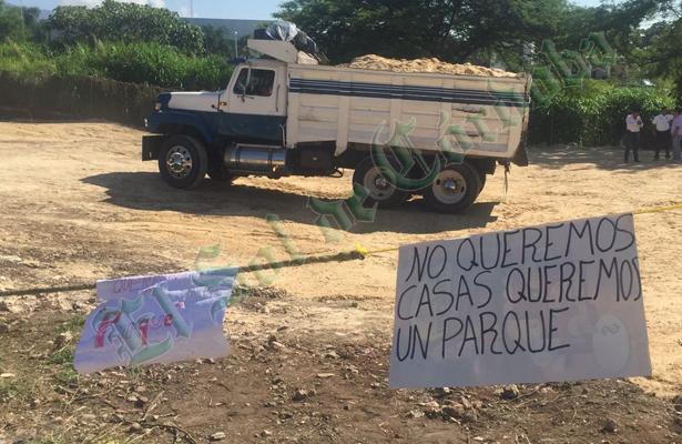 Vecinos de Buenavista se oponen a construcción de viviendas para reubicación