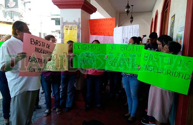Habitantes de La Concepción se organizan para defender su pueblo de la delincuencia