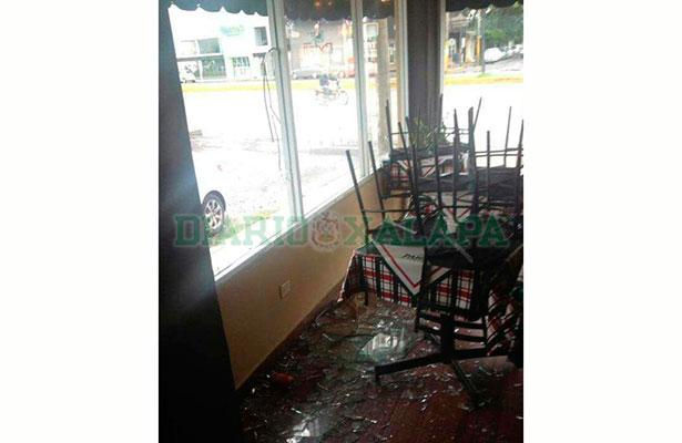 Aprovecharon la visita de Franklin y entraron a robar a un restaurante